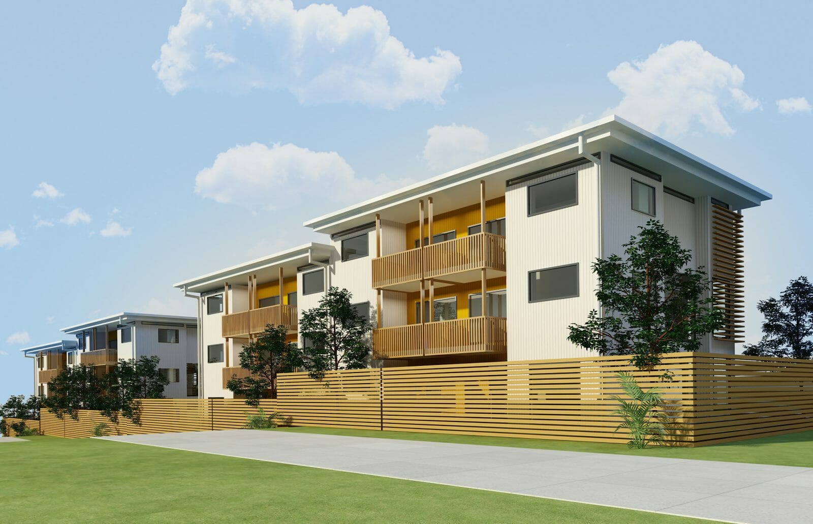 8 Terraced Housing Development in North Shore
